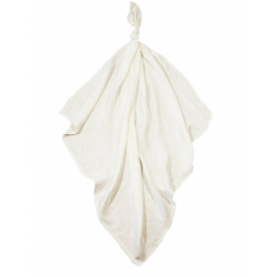 Луксозна бебешка пелена 100% бамбук Мидички 120/120 екрю с водорасли