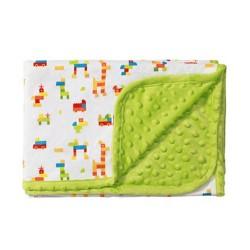 Двулицево бебешко одеяло Game