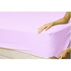 Долен чаршаф с ластик от ранфорс Purple