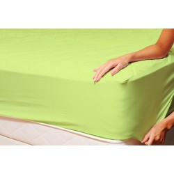 Долен чаршаф с ластик от ранфорс Green