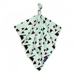 Луксозна бебешка пелена 100% бамбук Триъгълничета 120/120