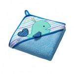 Бебешка кърпа за баня с качулка 76/76