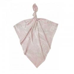 Луксозна бебешка пелена 100% бамбук Балони в небето 75/75 - розови