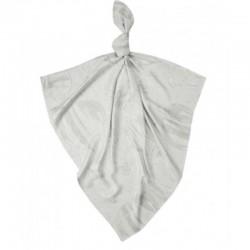 Луксозна бебешка пелена 100% бамбук Балони в небето 75/75 - сиви