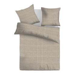 Спално бельо от ранфорс Brown Raster