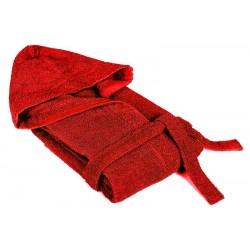 Халат за баня PORTO red