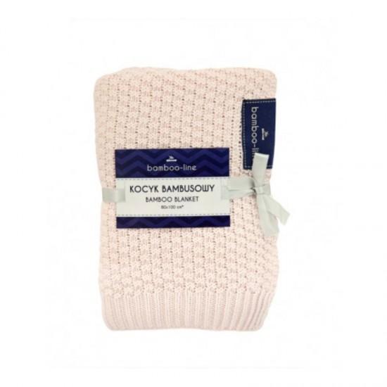 Бебешко одеяло от бамбук pink