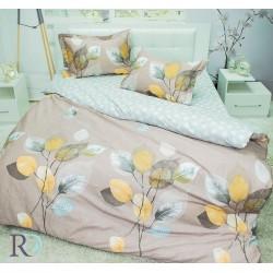 Спално бельо от фин памук Amelia Beige