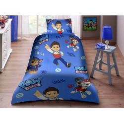 Детско спално бельо от ранфорс Paw Patrol