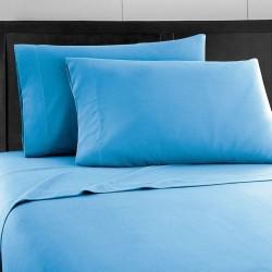 Спално бельо 100% Памук синьо