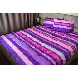 Спално бельо 100% Памук ВОН лила