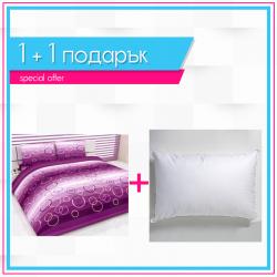 Спално бельо + 2 възглавници - Балончета