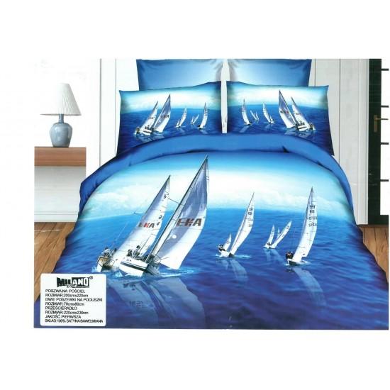 3D Спално бельо Сейлинг