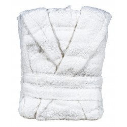 Бял хавлиен халат Класико