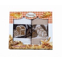 2бр. Кухненска хавлиена кърпа Bread