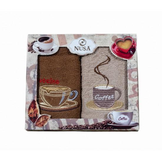 2бр. Кухненска хавлиена кърпа Coffee