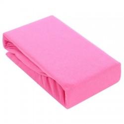 Чаршаф с ластик ТРИКО розово