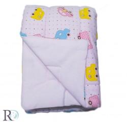 Бебешка олекотена завивка от памучно трико