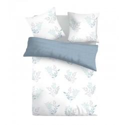 Спално бельо ранфорс Victoria White 2