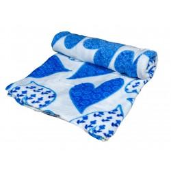 Плюшено одеяло Blue notes