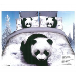 3D Спално бельо Winter Panda