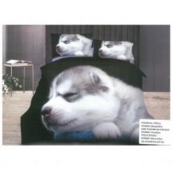 3D Спално бельо Puppy
