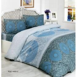 Спално бельо фин памук McGregor Blue