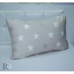 Калъфка за възглавница Stars beige