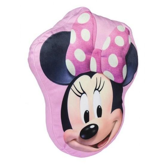 3D Декоративна възглавница Minnie Mouse