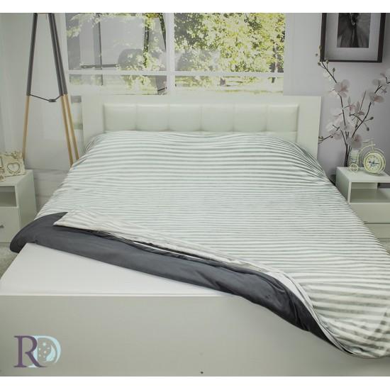 2 в 1 Одеяло и плик за завивка Pre Grey