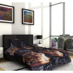 3D Спално бельо от микрофибър Mr.Tiger