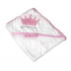 Бебешка хавлийка 100% памук Принцеса