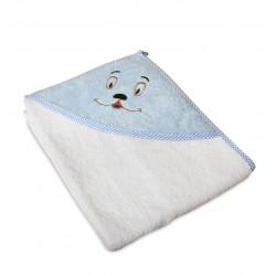 Бебешка хавлийка 100% памук Sweety blue