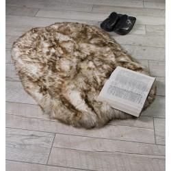 Луксозно килимче от кожа РИЖ