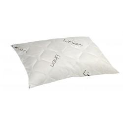 Възглавница с ленени нишки