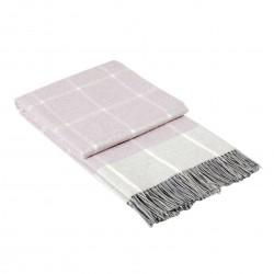 Висококачествено одеяло в цвят пудра