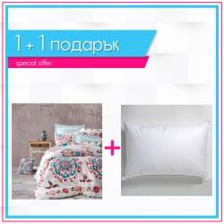 Спално бельо Маракеш + възглавница със силиконов пух