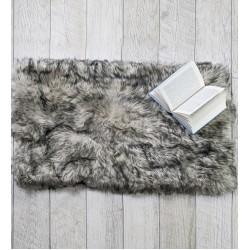 Пухкаво килимче СИВО
