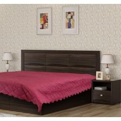 Шалте - покривало за легло Бордо
