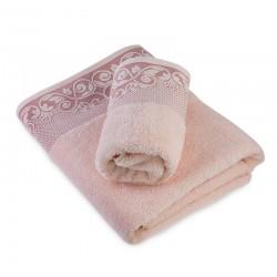 Луксозна кърпа от египетски памук Lucia праскова