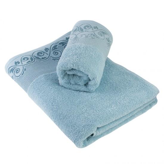 Луксозна кърпа от египетски памук Lucia aqua