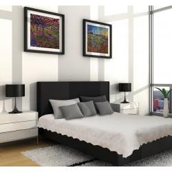 Шалте - покривало за легло микрофибър Светло Бежово
