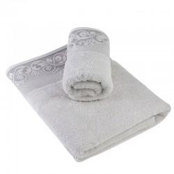 Луксозна кърпа от египетски памук Lucia сиво