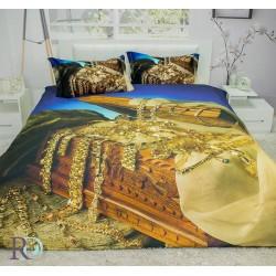 Романтично 3D Спално бельо The Giant Treassure