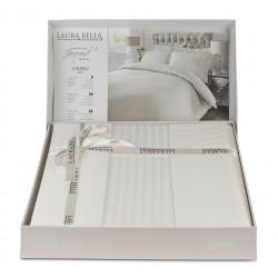 Луксозно спално бельо от бамбук Cream