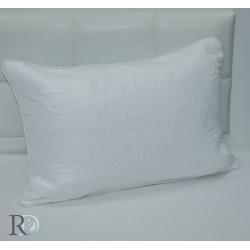 Луксозна декоративна калъфка ROZETA бяло