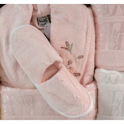 Премиум комплект халати за баня от 100% Бамбук Yonca Aritmo