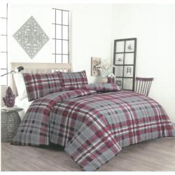 Спално бельо с олекотена завивка Макавели ранфорс