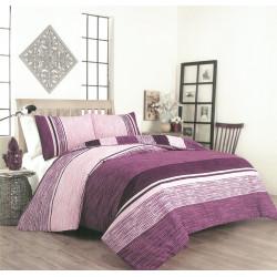 Спално бельо с олекотена завивка Лолипоп ранфорс
