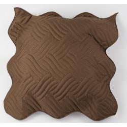 Декоративна възглавница ултрасоник кафяво
